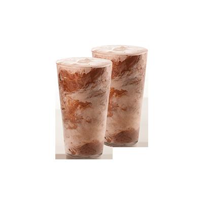 2 Shakes Crocante - R$ 16,90
